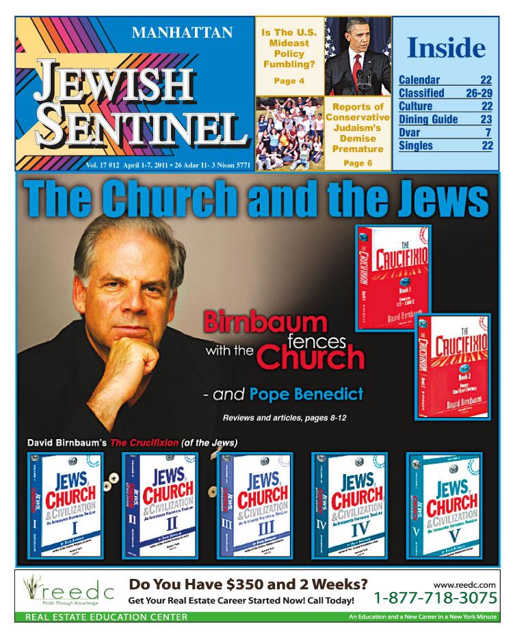 8_ DavidBirnbaumCrucifixionChurchJewsCivilization
