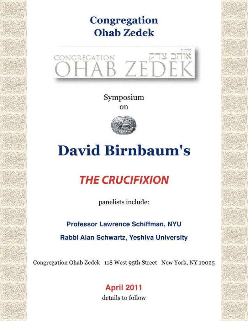 DavidBirnbaumCrucifixionOhabZedek